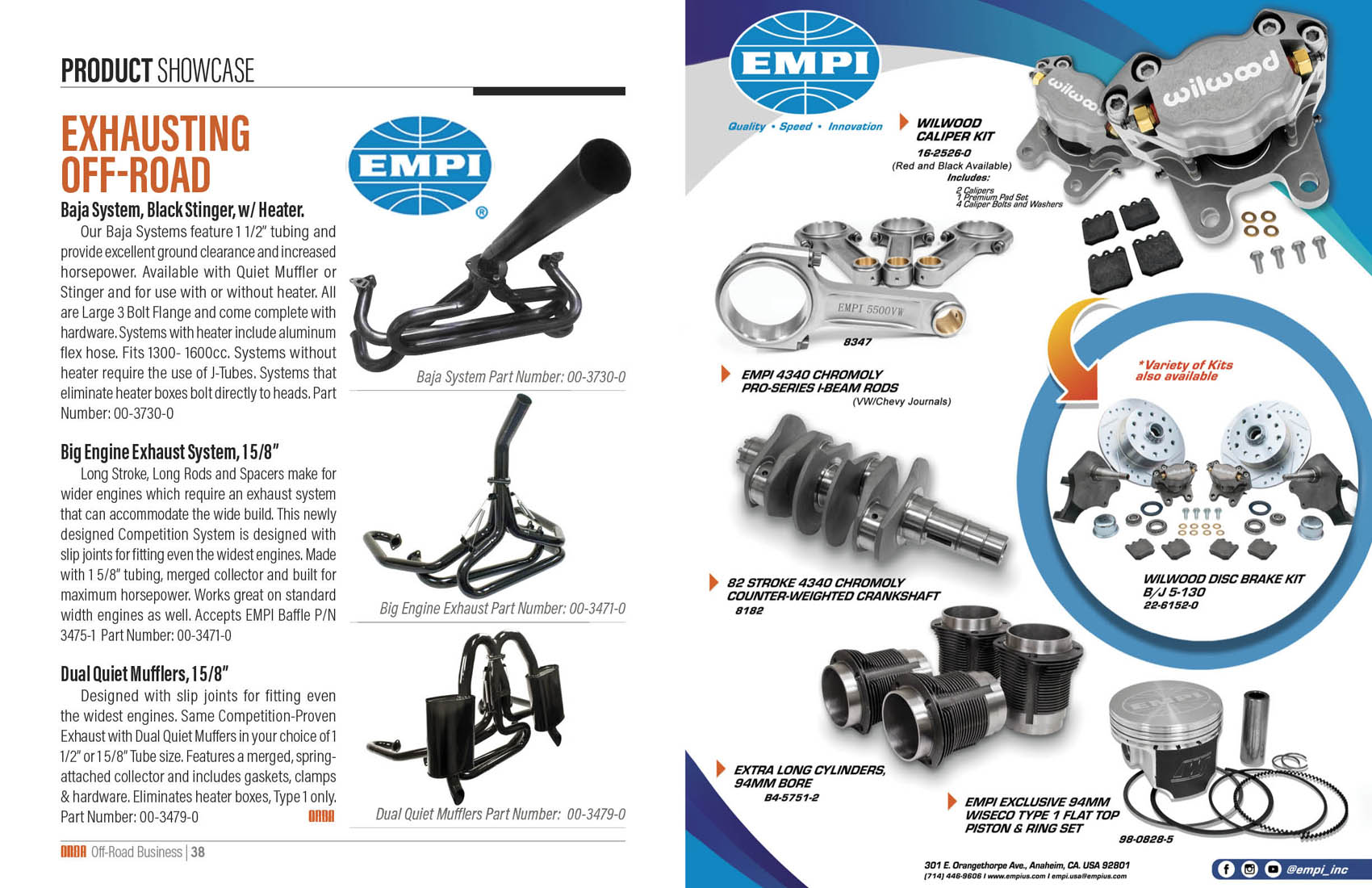 Product Showcase - EMPI